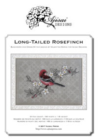 Valentina Sardu <br/>Long-tailed Rosefinch <br/>schema cartaceo