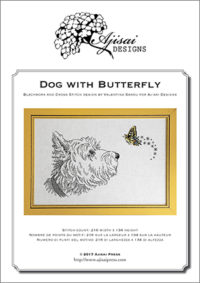 Valentina Sardu <br/>Dog with butterfly – Schema cartaceo