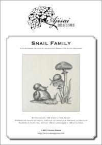 Valentina Sardu <br/> Snail family – Schema cartaceo