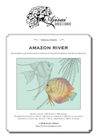 Valentina Sardu <br/>Tropical Fishes. Amazon River <br/>Schema cartaceo