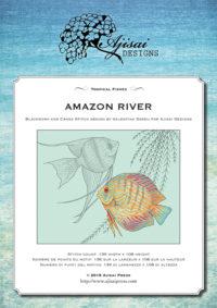 Valentina Sardu <br />Ricamo Punto Croce e Blackwork: Rio delle Amazzoni<br /> Ebook da scaricare