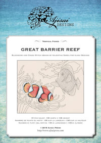 Valentina Sardu <br />Ricamo Punto Croce e Blackwork: Grande Barriera Corallina<br /> Ebook da scaricare