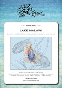 Valentina Sardu <br />Ricamo Punto Croce e Blackwork: Lago Malawi<br /> Ebook da scaricare